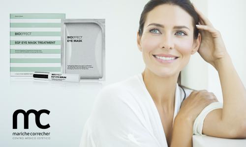 cuida el contorno de tus ojos con bioeffect egf eye mask treatment - marichecorrecher